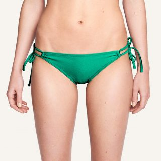 Mona Double Tied Bikini Panty Disco green