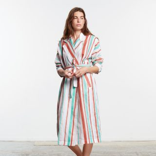 Dress Coat in cotton voile