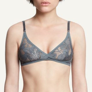Zoe Soft Bra Grey Paris